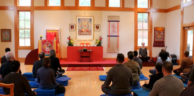 The Bodhisattva Vow Ceremony with Acharya Richard John